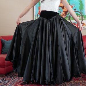 Vtg Dancer Skirt